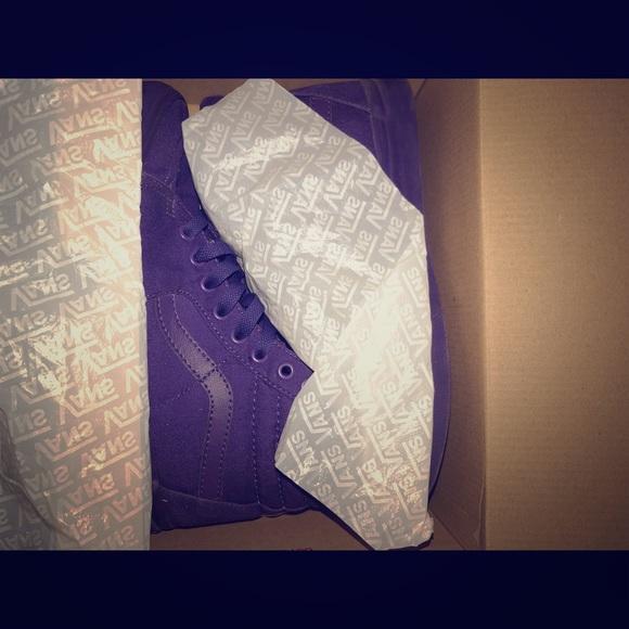 Vans Shoes | Heliotrope Purple Sk8hi